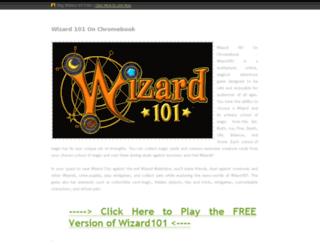 wizard.101.on.chromebook.top2015games.com screenshot