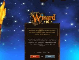 wizard101.com-i.link screenshot