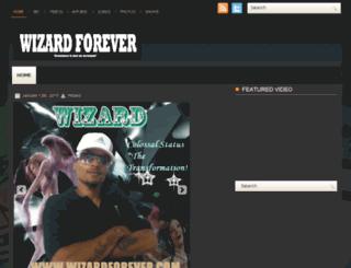 wizardforever.com screenshot