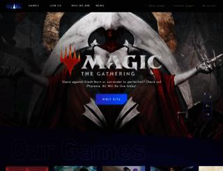 wizards.com screenshot