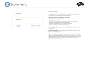 wizards.econometrix.com screenshot