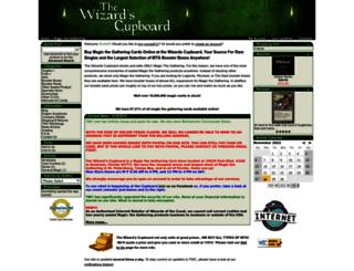 wizardscupboard.com screenshot