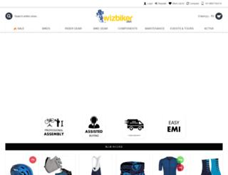 wizbiker.com screenshot