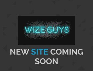 wizeguyscomedy.com screenshot