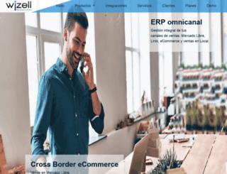wizell.net screenshot