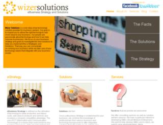 wizersolutions.co.nz screenshot