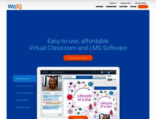 wiziq.com screenshot