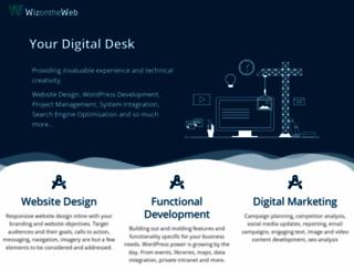 wizontheweb.com screenshot