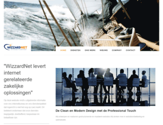wizzardnet.nl screenshot