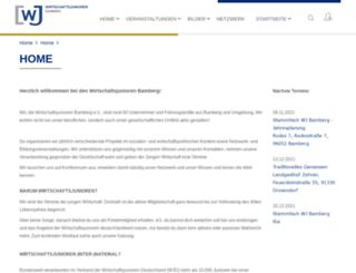 wj-bamberg.de screenshot