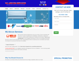 wjairconservices.com screenshot