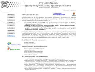 wjazdy.pl screenshot