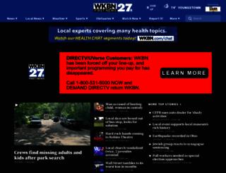 wkbn.com screenshot