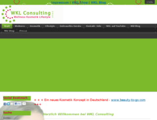 wkl-consulting.de screenshot