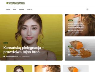 wkrainienatury.pl screenshot
