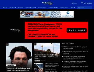 wkrg.com screenshot