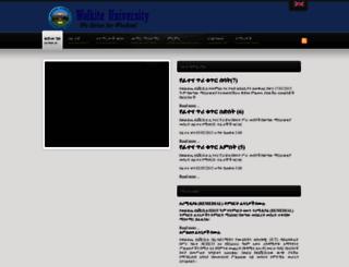 wku.edu.et screenshot