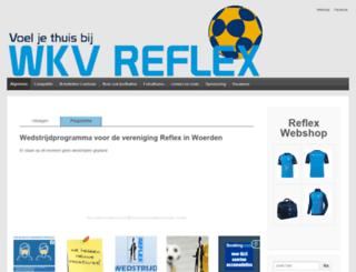 wkvreflex.nl screenshot
