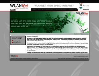 wlannet.net screenshot