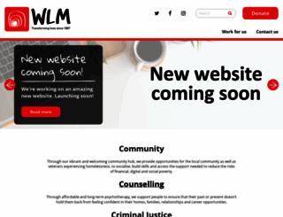 wlm.org.uk screenshot