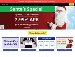 wlsefcu.com screenshot