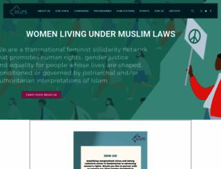 wluml.org screenshot