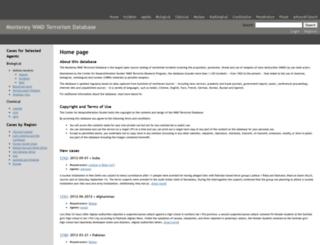 wmddb.miis.edu screenshot