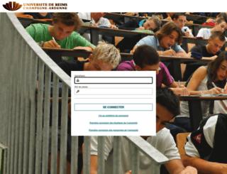 wme.univ-reims.fr screenshot