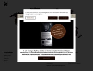 wmf-kaffeemaschinen.de screenshot
