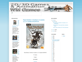 wmgames.blogspot.com screenshot