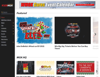 wmgk.com screenshot