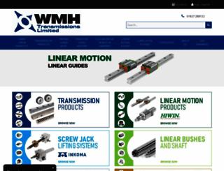wmh-trans.co.uk screenshot