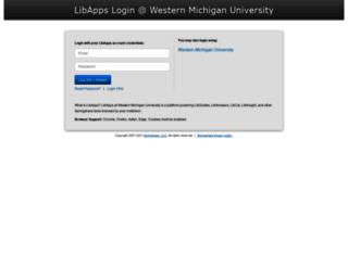 wmich.libapps.com screenshot