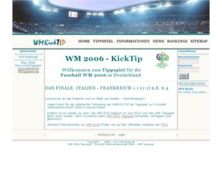 wmkicktip.de screenshot