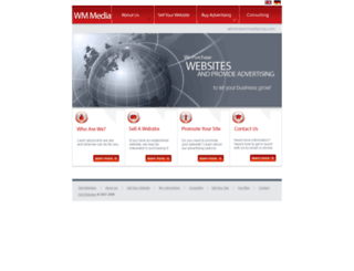 wmmediacorp.com screenshot