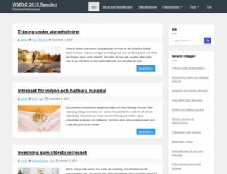 wmoc2015sweden.se screenshot