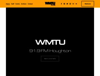 wmtu.mtu.edu screenshot