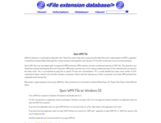 wmv.extensionfile.net screenshot