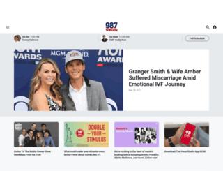 wmzq.iheart.com screenshot
