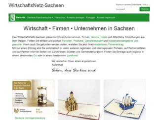 wn-sachsen.de screenshot