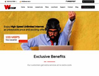 wnet.net.in screenshot