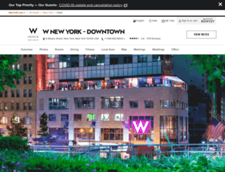 wnewyorkdowntown.com screenshot