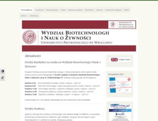 wnoz.up.wroc.pl screenshot