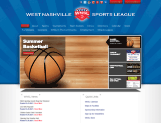 wnsl.org screenshot