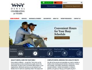 wnydental.com screenshot