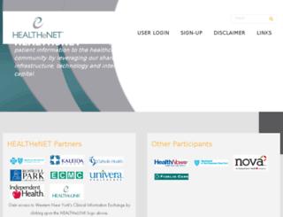 wnyhealthenet.org screenshot