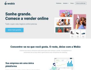 wobiz.com.br screenshot