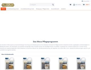 woca-online-shop.de screenshot