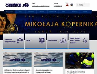 wodociagi.torun.com.pl screenshot