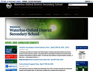 wodss.wrdsb.on.ca screenshot
